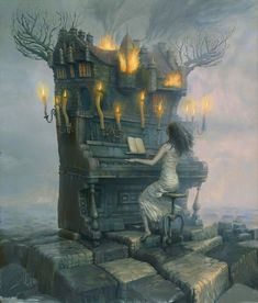 Surreal Storytelling Illustrations by Andrew Ferez