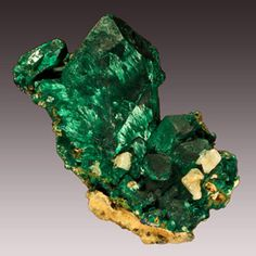 Malachite pseudomorph after Azurite -  Tsumeb Mine, Otjikoto Region, Namibia 6.8 x 6.3 x 3.9 cm  MMS-163 - Displaying the sharp edges of the original azurite crystal and rising to an impressive 8.3 cm, this specimen showcases the velvet-like chatoyant patterns that remind us that oxidation is simply the second movement of a geologic symphony. The back contains several cerussite crystals, one reticulated.