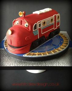Chuggington cake. Wilson from chuggington.