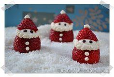 BABBI NATALE DI FRAGOLE E MASCARPONE fragolaelettrica.com Le ricette di Ennio Zaccariello #Ricetta #Christmas