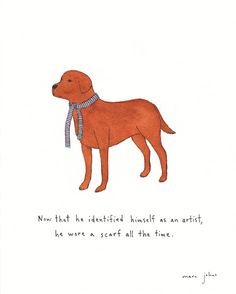 he identified himself as an artist - Original Drawing — Marc Johns Marc Johns, Wow Art, Dog Wear, Amazing Drawings, Canadian Artists, Art Inspo, In This World, Funny, Hilarious