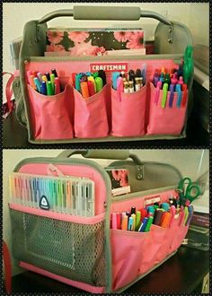 Coloured Pens Large Holder