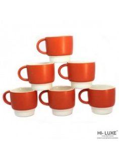 5ea395c6c02d Buy Hi Luxe Eva Tea Coffee Mug Set Of 6 Pcs-278161 online at happyroar.com