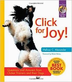 Click for Joy (#ClickerTraining #Book Review).