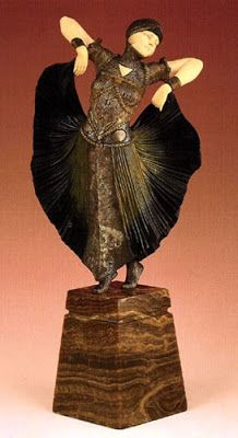 Demètre Chiparus, The Art Deco Sculptor ~ Blog of an Art Admirer