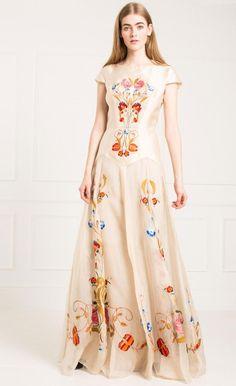 Long Toledo Dress by Temperley London
