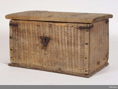 Norwegian chest, most likely medieval.