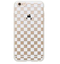 Clear Checkers Protective iPhone Cover