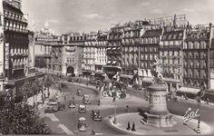 La place de Clichy vers 1935 (Paris 8e/9e/17e/18e)