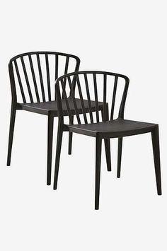 To Help Digest Greasy Food Humor Three Vintage Dining Chairs Dark Oak Finish