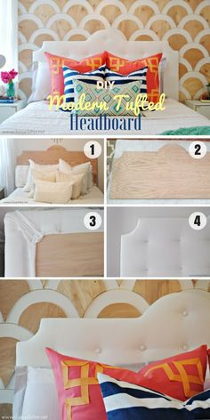40 Awesome DIY Headboard Ideas You Can Make Right Now