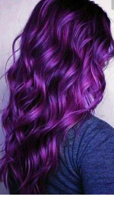 Beautiful purple