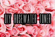 DIY: Make Your Own Rosewater Facial Toner At Home