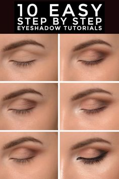 Everyday Eyeshadow, Everyday Eye Makeup, Hazel Eye Makeup, Everyday Makeup Tutorials, Eyeshadow For Brown Eyes, Applying Eye Makeup, Eye Makeup Steps, How To Apply Eyeshadow, Natural Eye Makeup