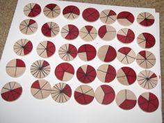 fraction game/printables