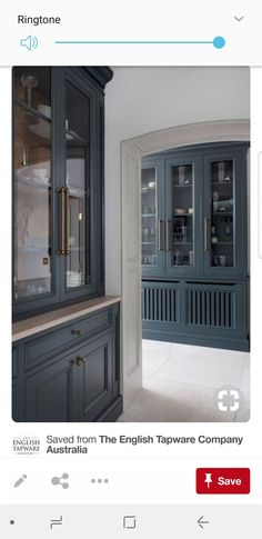 Woodale – Provencal KItchen Dresser - All For Home İdeas Kitchen Dresser, Kitchen Cabinet Hardware, Kitchen Cabinetry, Cabinets, Beautiful Kitchen Designs, Beautiful Kitchens, Luxury Kitchens, Home Kitchens, English Kitchens