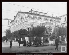 Το οφθαλμιατρείο των Αθηνών το 1910. Φωτογραφία: Συλλογή Αντώνη Σ. Μαΐλλη. Athens Greece, Greek, Street View, Greece