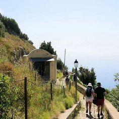 We were told there were 1000 steps to walk down to Amalfi [Sentiero Antica…