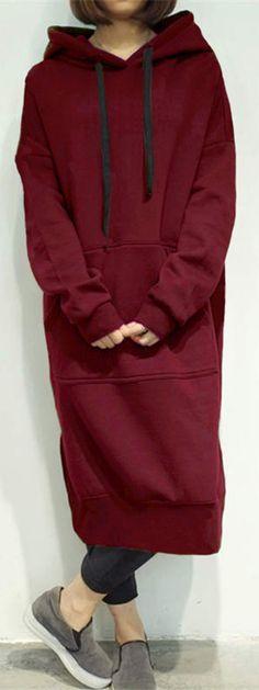 US$33.99 + Free shipping. Size: S~5XL. Color: Army Green, Black, Gray, Blue, Burgundy, Coffee, Dark Grey. Women's Dresses, Long Dresses, Sweatshirt Dresses. SHOP NOW~