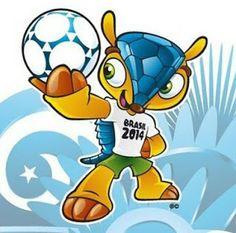 2014 WORLD CUP FOOTBALL SOCCER BRAZIL: 2014 World Cup Mascot