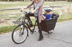 Masden Cycle | The Freckled Fox (cargo bucket, kids, 600lbs, pets, bicycling)