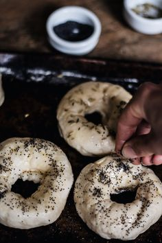 Poppy and Fennel Seed Bagel | The Food Federation