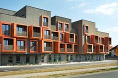 Jurckova Housing by Enota in Ljubljana, Slovenia