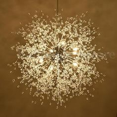 Modern Dandelion LED Chandelier Fireworks Pendant Lamp Ceiling Lights Home  Decor 996514019471 | EBay