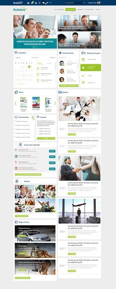 Intranet Rodobens on Behance