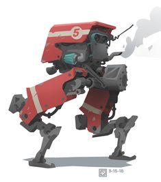 ArtStation - March of robots set Gediminas Einikis Arte Robot, Robot Art, Character Concept, Character Design, Robots Characters, Cyberpunk Character, Robot Concept Art, Space Pirate, Suit Of Armor