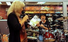 Book tour/drum clinic with Danny Seraphine. Drum, Clinic, Book, Book Illustrations, Books