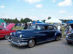 My 1st Car Chrysler Windsor 4 door 1947