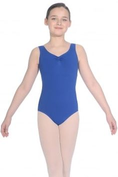 Natasha Ladies' Cotton Sleeveless Leotard