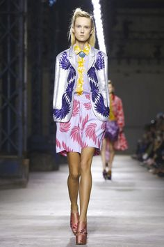 Dries Van Noten Ready To Wear Spring Summer 2016 Paris - NOWFASHION