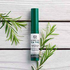 Tea Tree Oil Anti-Blemish Targeted Gel / Clarifying Treatment   The Body Shop ®