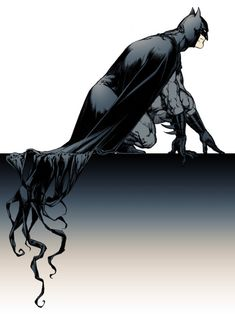 Crawling. #Batman #art