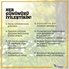 Her gününüzü iyileştirin… Meaningful Sentences, Meaningful Quotes, Self Development, Personal Development, Life Guide, Life Motivation, Creative Words, Inner Peace, Positive Thoughts