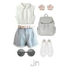 """Picnic Date With Jin""   p.s I LOVE THIS OUTFIT"
