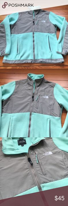 North face Jacket North face Jacket - Teal/Gray. Size Small. Worn gently The North Face Jackets & Coats