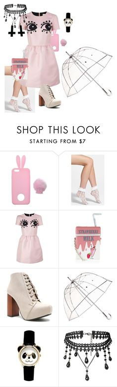 """""""Untitled #143"""" by zabrinakirby on Polyvore featuring Miss Selfridge, Betsey Johnson, RED Valentino, Accessorize, Qupid, Totes and Chicnova Fashion"""