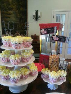 Movie birthday party for my girls!