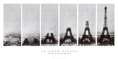 La Tour Eiffel Poster in my Living Room