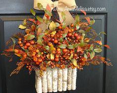 corone di caduta cadono autunno ghirlanda ghirlanda di aniamelisa