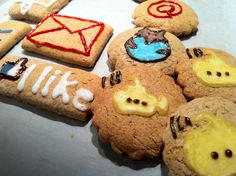 social media cookie #chrismas