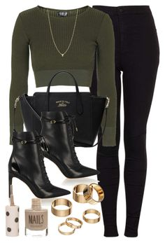 A fashion look from January 2016 featuring long sleeve shirts, skinny jeans and sam edelman booties. Browse and shop related looks. Teen Fashion Outfits, Edgy Outfits, Mode Outfits, Classy Outfits, Look Fashion, Bad Girl Outfits, Fashion Women, Really Cute Outfits, Cute Comfy Outfits