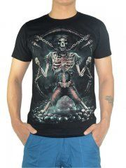 FREAKY FRIDAY CHAINED SKULL TEES