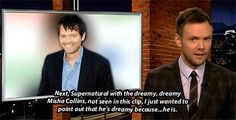 Just because he is. This was too great not to pin :) MISHA GIFS