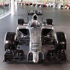 Introducing the McLaren Mercedes our 2014 Formula 1 car. See the photos of the new McLaren directly from the factory. Mclaren Mercedes, New Mclaren, Mclaren Mp4, Mercedes Benz, Audi, Porsche, Bmw, Maserati, Bugatti