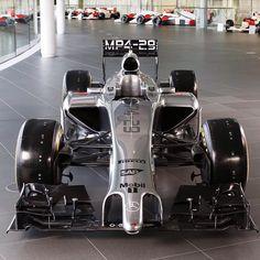 McLaren Formula 1 2014 - McLaren Mercedes MP4-29 my personal favourite team but not quite the best :(