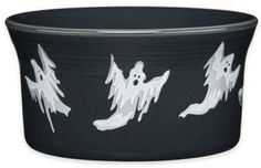 Fiesta®️️ Halloween Ghosts Ramekin in Black #Affiliate Link